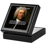 Glory God Music J. S. Bach Keepsake Box
