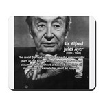British Philosophy Ayer Mousepad