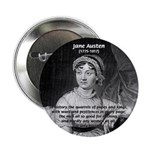 "Women in History Jane Austen 2.25"" Button (100 pac"