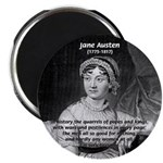 "Women in History Jane Austen 2.25"" Magnet (100 pac"