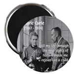 "Marie Curie Physics Liberty 2.25"" Magnet (10 pack)"