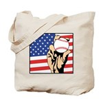 American Baseball Tote Bag