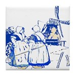 Blue Dutch Tile Coaster