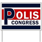 Jared Polis Lawn Sign