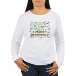 Dear Santa Furry Werewolf Women's Long Sleeve T-Sh