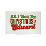 Christmas Edward Rectangle Magnet (10 pack)