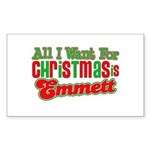 Christmas Emmett Rectangle Sticker 50 pk)