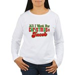 Christmas Jacob Women's Long Sleeve T-Shirt