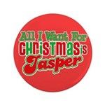 Christmas Jasper 3.5&quot; Button (100 pack)