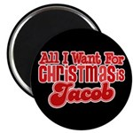 "Christmas Jacob 2.25"" Magnet (10 pack)"