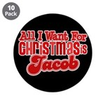 "Christmas Jacob 3.5"" Button (10 pack)"