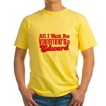 Edward Valentine Yellow T-Shirt