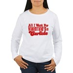 Carlisle Valentine Women's Long Sleeve T-Shirt