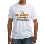 Don't Give Me Debt Fitted T-Shirt