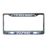 Dolphin License Plate Frames