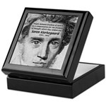 Irony Freedom of Speech Keepsake Box