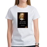 Thomas Hobbes Truth Women's T-Shirt