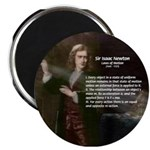 Isaac Newton Laws Motion Magnet