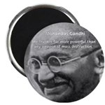 Power of Truth Gandhi Magnet