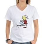 Organizer Women's V-Neck T-Shirt