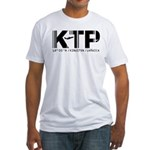 Kingston Airport Code Jamaica KTP Fitted T-Shirt