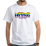 Anti Liberal Hippies White T-Shirt