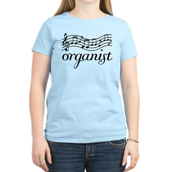 organist t-shirts