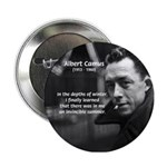 Albert Camus Motivational Button