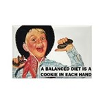 Balanced Diet Fridge Magnet