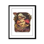 """Gift of Love"" Framed Panel Print"