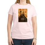 Cezanne Famous Paris Quote Women's Pink T-Shirt