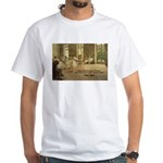 Degas Dancers Quote White T-Shirt