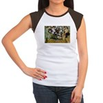 Degas Difficulty of Painting Women's Cap Sleeve T-