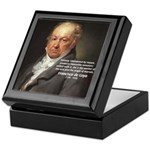 Goya Fantasy Monster Quote Keepsake Box