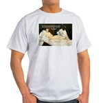 Impressionist Art Manet  Ash Grey T-Shirt
