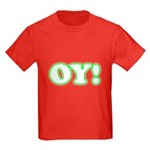 Christmas Oy! Kids Dark T-Shirt