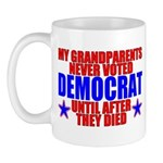 Democrat AFTER Death Mug