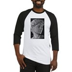 David with Michelangelo Quote Baseball Jersey