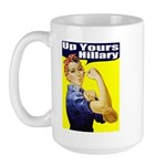 Anti-Hillary Rosie Large Mug