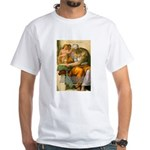 Michelangelo Art Philosophy White T-Shirt