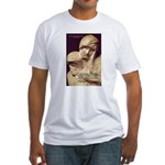 Michelangelo Marble Pieta Fitted T-Shirt
