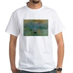 Claude Monet Torture Art White T-Shirt