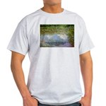 Monet Painting: Beauty Quote Ash Grey T-Shirt