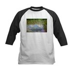 Monet Painting: Beauty Quote Kids Baseball Jersey
