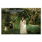 Berthe Morisot Art Quote Large Poster