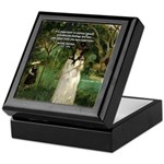 Berthe Morisot Art Quote Keepsake Box