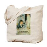 Female Artist Morisot Quote Tote Bag