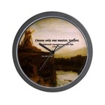 Rembrandt Painting & Quote Wall Clock