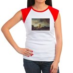 Rembrandt: on God & Painting Women's Cap Sleeve T-