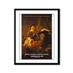 Art & Atmosphere Rembrandt Framed Panel Print